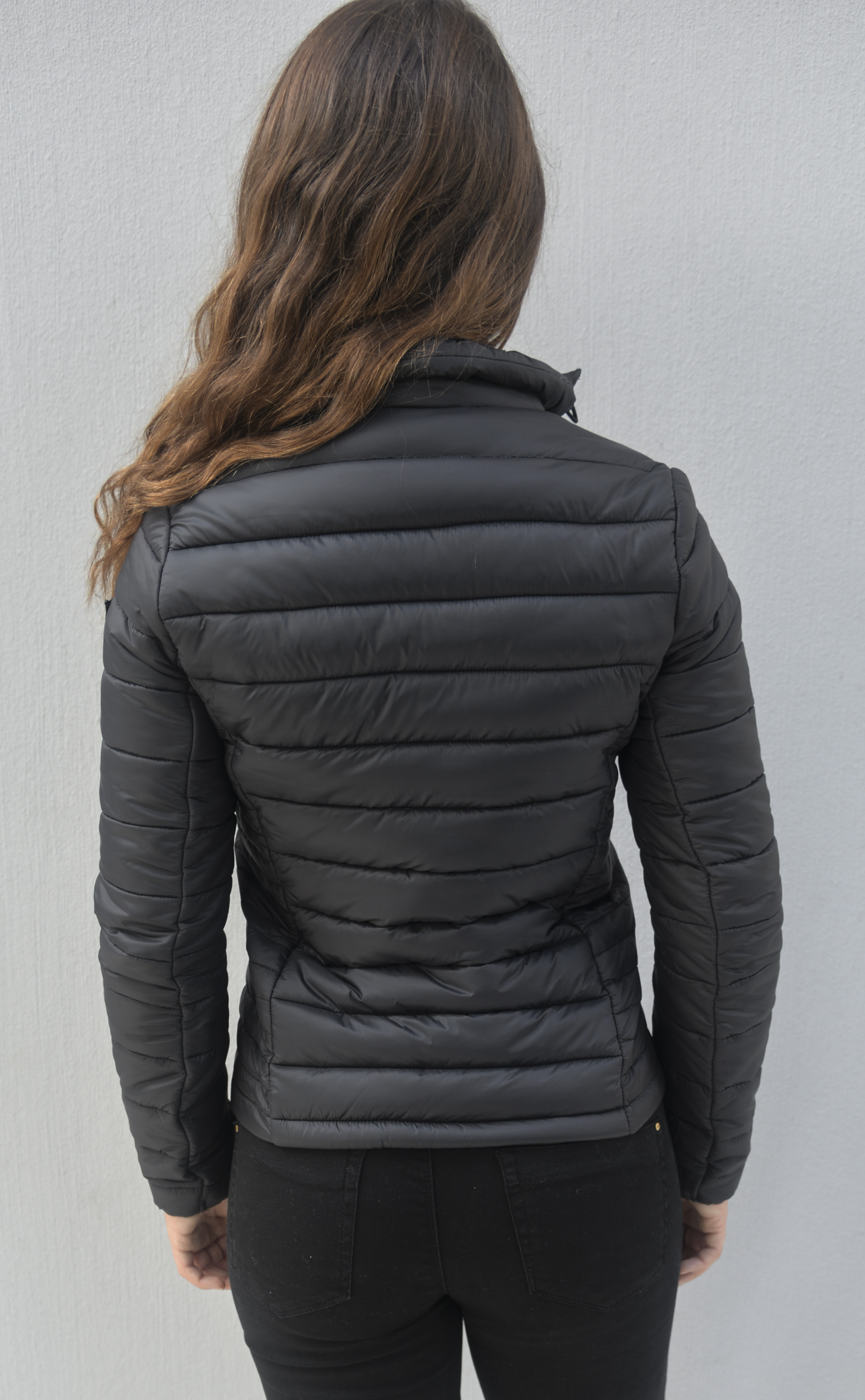 4e7b1872d Burlesque Black Short puffer Jackets without hood - » GiLo Lifestyle