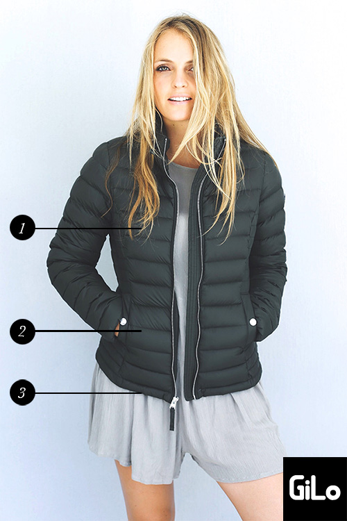 GiLo Puffer Jacket Size Guide